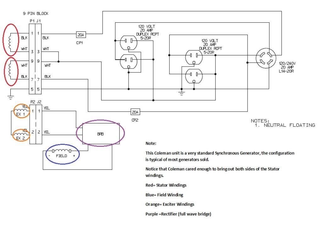chicago electric generator wiring diagram